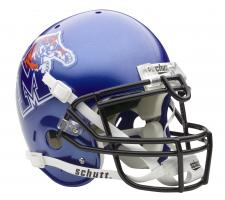 Memphis Tigers Full Size Authentic Helmet by Schutt
