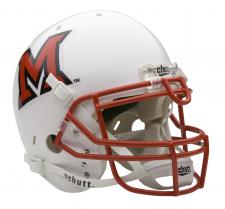 Miami of Ohio Redhawks Full Size Authentic Helmet by Schutt