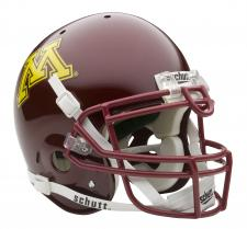 Minnesota Golden Gophers Full Size Authentic Helmet by Schutt
