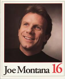 Joe Montana 16 Retirement Book