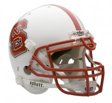 North Carolina State Wolfpack Full Size Authentic Helmet by Schutt