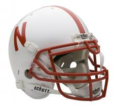 Nebraska Cornhuskers Full Size Authentic Helmet by Schutt