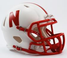 Nebraska Cornhuskers Current Speed Mini Helmet by Riddell