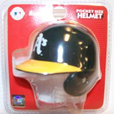 Oakland Athletics MLB Pocket Pro Batting Helmets by Riddell