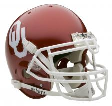 Oklahoma Sooners Full Size Authentic Helmet by Schutt
