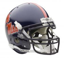 Mississippi Ole Miss Rebels Full Size Authentic Helmet by Schutt