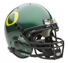 Oregon Ducks Full Size Authentic Green Helmet by Schutt