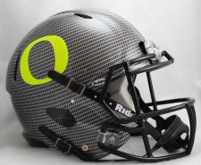 Oregon Ducks Carbon Fiber Speed Helmet