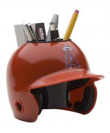 Los Angeles Angels Mini Batting Helmet Desk Caddy
