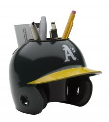 Oakland Athletics Mini Batting Helmet Desk Caddy