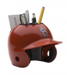 St Louis Cardinals Mini Batting Helmet Desk Caddy