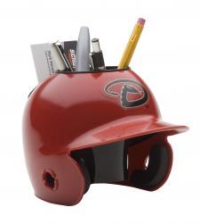 Arizona Diamondbacks Mini Batting Helmet Desk Caddy