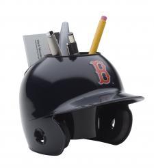 Boston Red Sox Mini Batting Helmet Desk Caddy