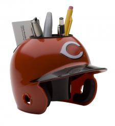 Cincinnati Reds Mini Batting Helmet Desk Caddy