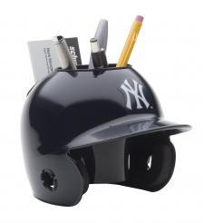 New York Yankees Mini Batting Helmet Desk Caddy