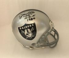 Jim Otto Autographed Mini Helmet