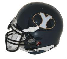 Brigham Young Cougars-(BYU) OLD LOGO Full Size Authentic Helmet by Schutt