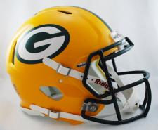 Green Bay Packers Helmet Riddell Speed 1980-Current