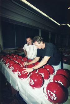 Joe Montana Autographed Helmet Kansas City Chiefs Pro Line Image