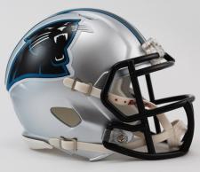 Carolina Panthers Mini Speed Helmets by Riddell