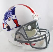 New England Patriots Helmet 1961-64 Throwback Deluxe Replica Full Size by Riddel