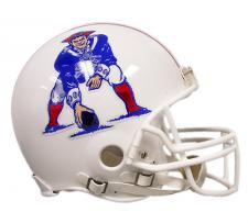 New England Patriots Helmet 1982-89 Throwback Pro Line