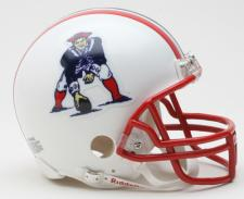 New England Patriots 1990-92 Throwback Replica Mini Helmet by Riddell