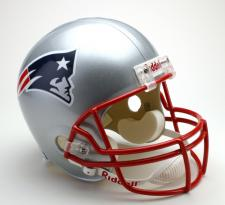 New England Patriots Helmet 1994-Present Deluxe Replica Full Size by Riddell