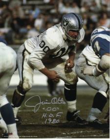 Jim Otto Autographed Photo