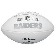 Raiders Four White Panel Footballs by Wilson