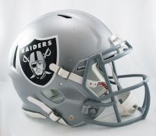 Raiders Helmet Riddell Speed 1964-Current