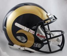 LA Rams Helmet Riddell Speed 2000-Current