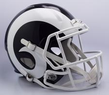2017 Rams Helmet