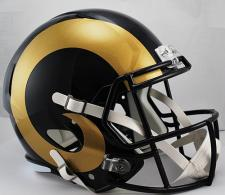 Rams Replica Speed Helmet