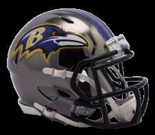 Ravens Chrome Mini Helmets