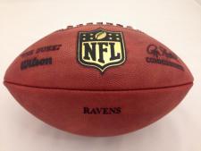 NFL Team Issued Game Model Football Ravens