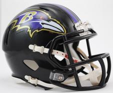 Baltimore Ravens Mini Speed Helmets by Riddell 3001948