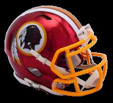 Redskins Chrome Mini Helmets