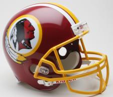 Washington Redskins Helmet 1982 Throwback Deluxe Replica Full Size by Riddell