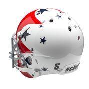 Air Force football Helmets Thunderbird