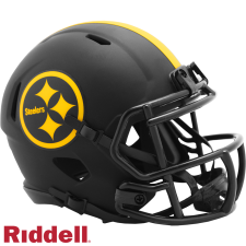 Steelers Mini Eclipse Helmet