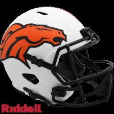 Broncos Lunar Replica Speed Helmets