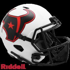 Texans Lunar Replica Speed Helmets