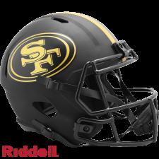 49ers Replica Eclipse Helmet