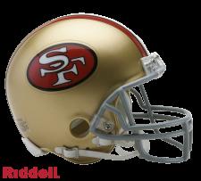 49ers Mini Helmet 1964-95
