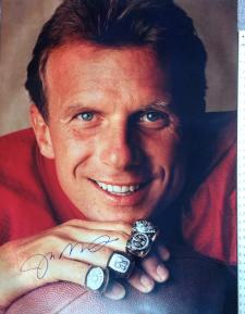 30x40 Joe Montana Photo Rings