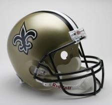 New Orleans Saints Helmet 2000-Present Deluxe Replica Full Size by Riddell