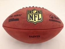 NFL Team Issued Game Model Football Saints