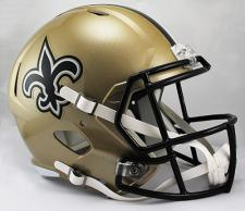 Saints Replica Speed Helmet