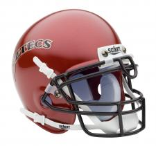 San Diego State Aztecs Throwback Mini Helmet by Schutt
